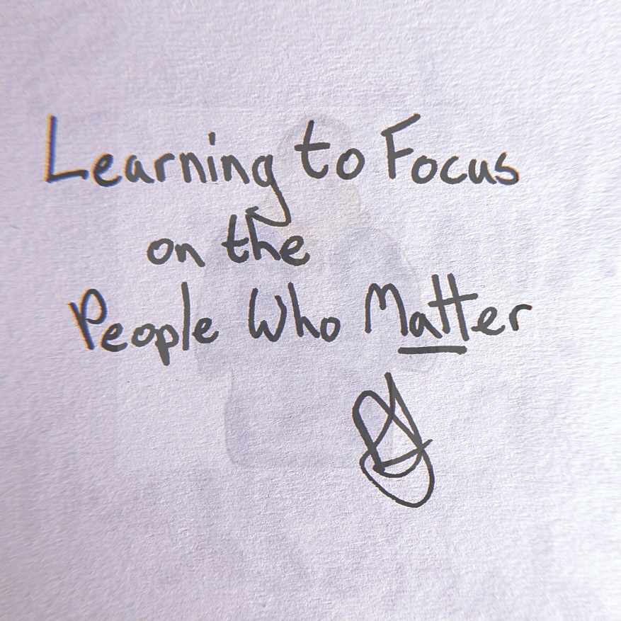Learning to Focus on the People Who Matter