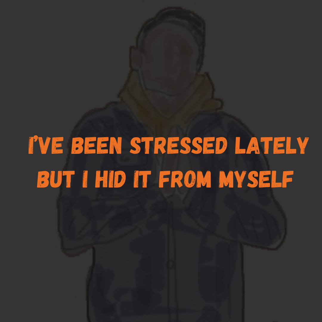 I've Been Stressed Lately But I Hid It From Myself